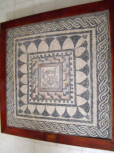 Sabratha museo mosaicos romanos Libia 24