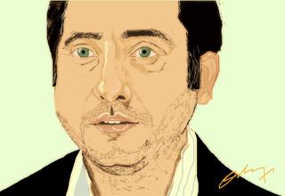 Yiğit Özşener Portre ezel series cengiz portrait