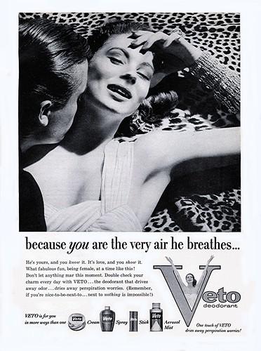 1957 Veto Deodorant