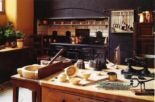 Charlecote Park _0008 Kitchen