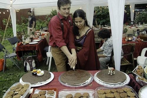 Wedding whoopie pies