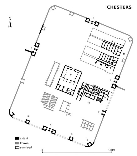 Plan of Chesters