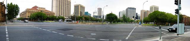 Re-Panorama of Adelaide CBD