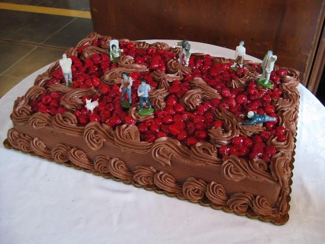 Zombie Grooms Cake