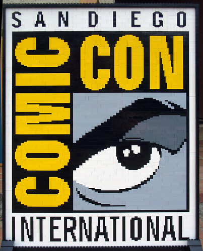 LEGO Comic Con logo