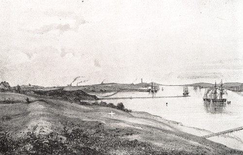 Wallsend c.1850 (Newcastle Libraries)