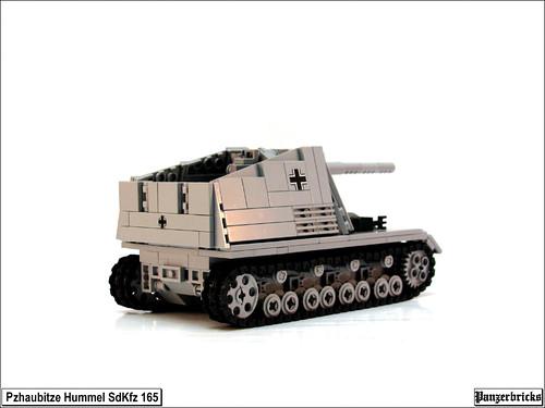 Panzerhaubitze Hummel SdKfz 165