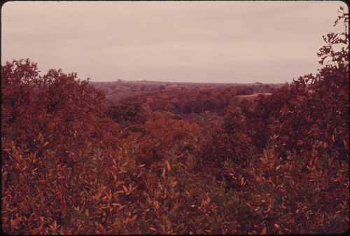 Fall Scene near the Missouri River near White Cloud and Troy, Kansas, in the Extreme Northeast Corner of the State...10/1974