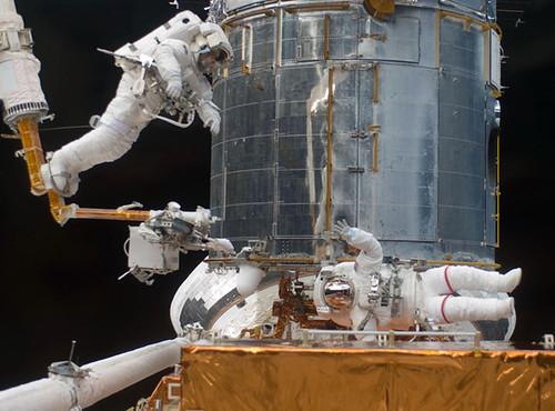 Hubble Telescope.
