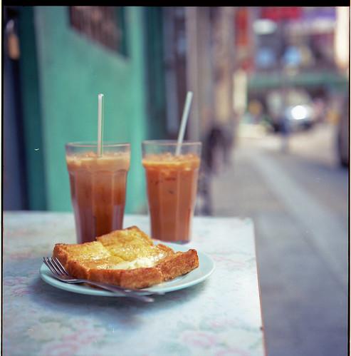 奶茶西多 Milk tea and french toast