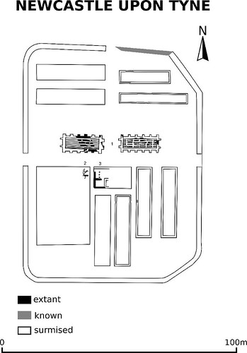 Newcastle fort plan