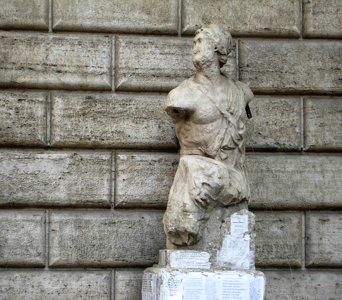 Pasquino statue, Rome