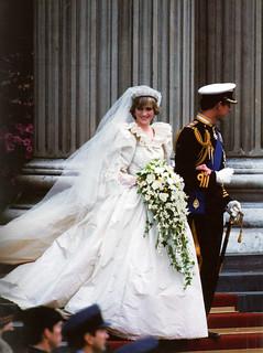 Princess Diana's Wedding dress, 1981