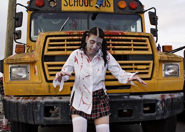 Zombie School Girl!