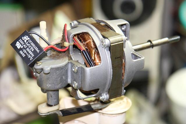 電風扇 馬達 electric fan motor | Flickr - Photo Sharing!