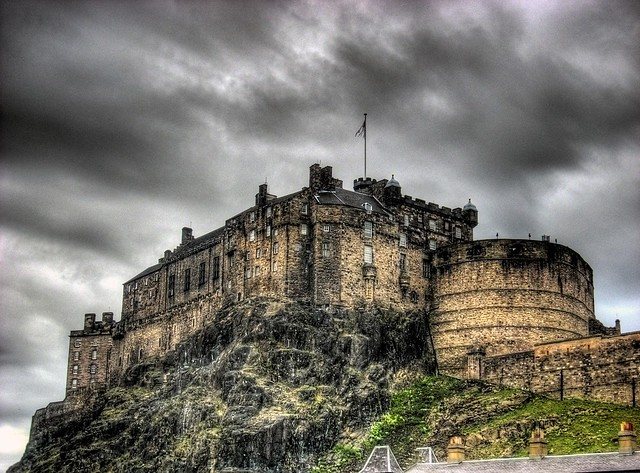 Edinbourgh Castle HDR