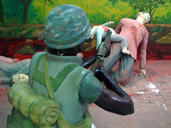 My Lai Memorial Site - Vietnam - Diorama of Massacre