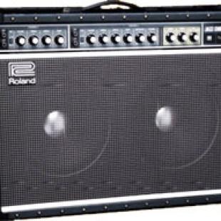 Roland JC 120 amplifier