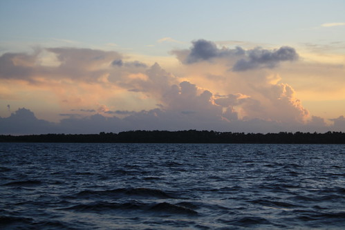 sunset over Lake George,St.Johns River,Florida by jayfherron