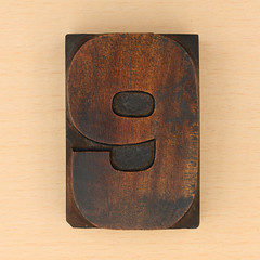 wood type number 9