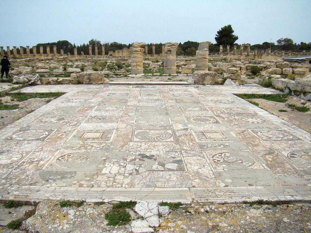 Libia Mosaicos Cirene Casa de Jason Magnus 12