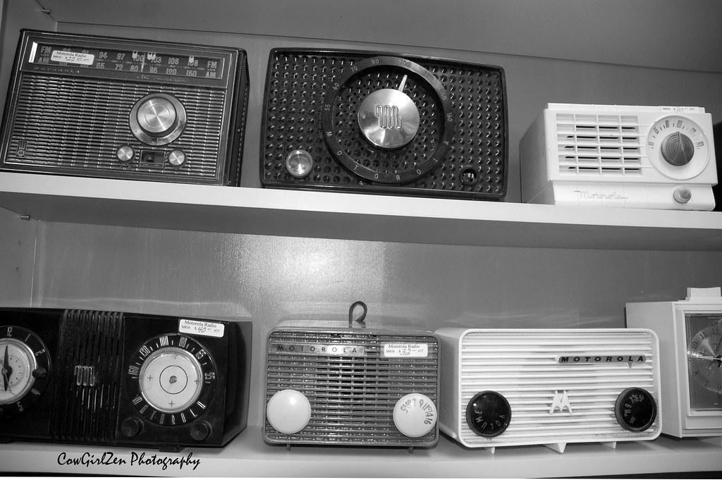 Imagen gratis de radios antiguas en alta resolución
