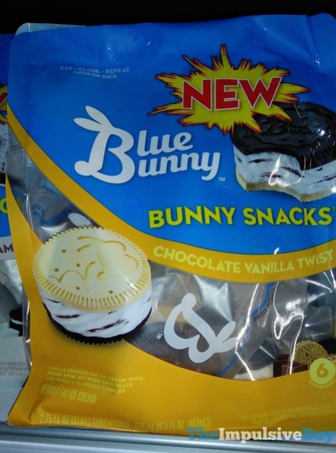 Blue Bunny Chocolate Vanilla Twist Bunny Snacks