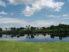 Recreational areas along Lake Okeechobee