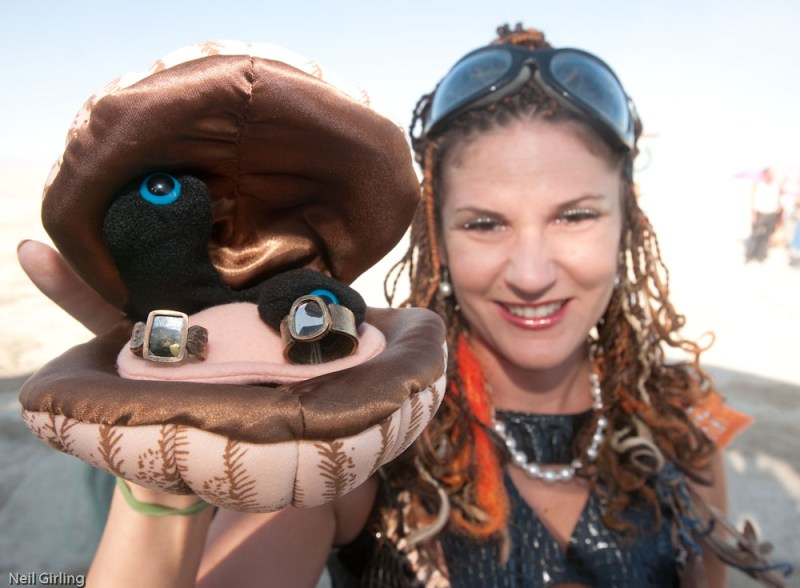 Congratulations to Jen and Gabe, Burning Man 2009