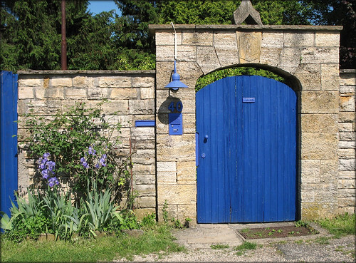 Blue Door - Stuttgart, Germany