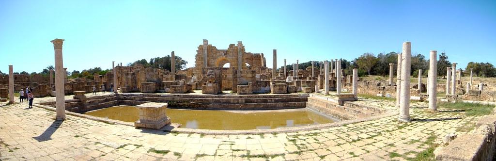 Termas de Adriano Leptis Magna Libia 01