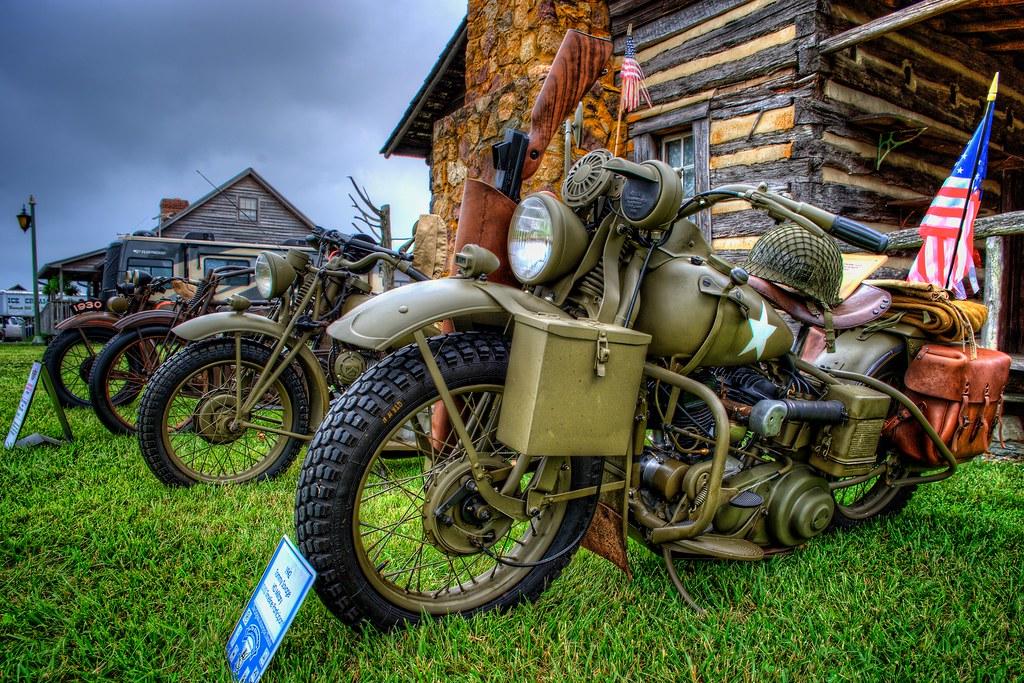 1942 Military Harley Davidson