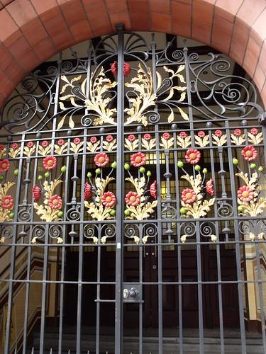 Wrought Iron Gates - The Bell Edison Telephone Building (17 & 19 Newhall Street) - Associated Architects and Phoenix Beard