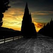 El Camino que te lleva al atardecer..