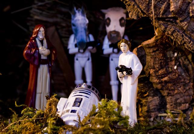 Crèche de Noël Star Wars / Star Wars Nativity Scene