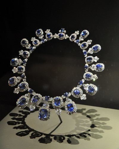 Sapphire and Diamond Collar