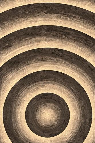 iPhone Wallpaper - Sepia Sphere