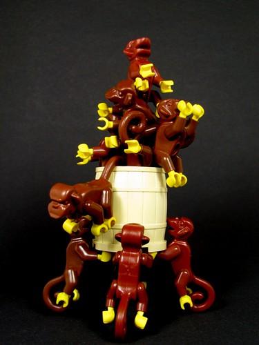 Barrelling Monkeys getting carried away...
