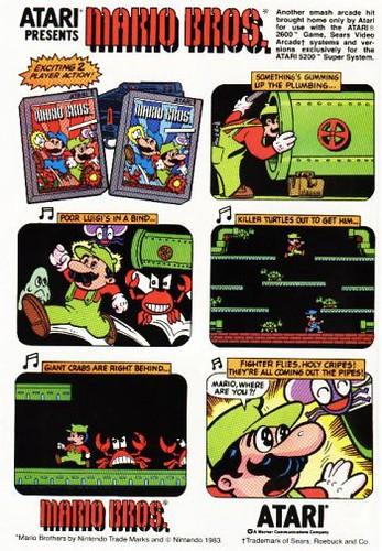 Atari Presents Mario Brothers