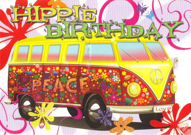 Hippie Happy Birthday Meme