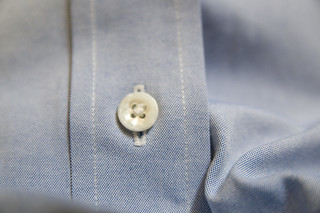Shirt Button - closeup