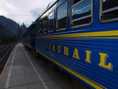 Peru Travel: The Peru Rail Machu Picchu service