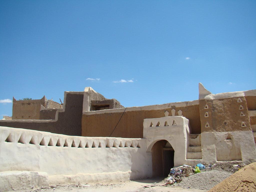 Entrada a las murallas de Ciudad Antigua de Gadames Libia 11