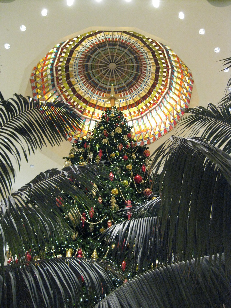 South Coast Plaza Christmas Tree