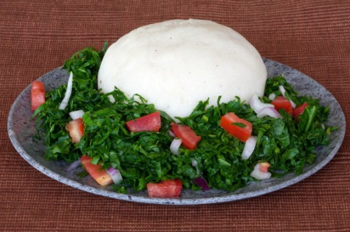 Ugali, photo by Bacardi on flickr.com | Tanzanian Cuisine, Tanzanian food | The Girl Next Door is Black