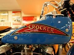 Crocker v-twin, 1938 Crocker Small Tank Model