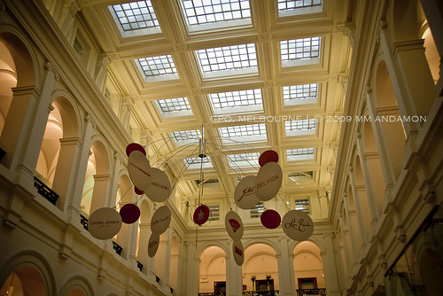 Ceiling detail, GPO