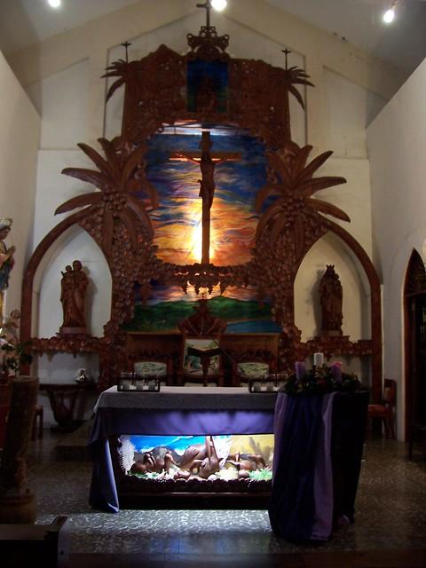 Luquillo Puerto Rico St. Joseph's church altar