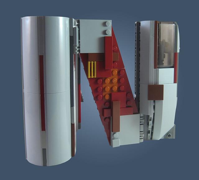 MOC-020 LEGO N Spaceship