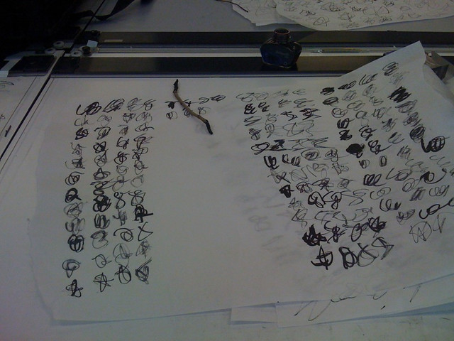Typography Scribbles